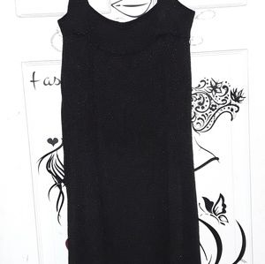 H&M Dresses - H & M Black Glitter Sparkle Sleeveless Dress